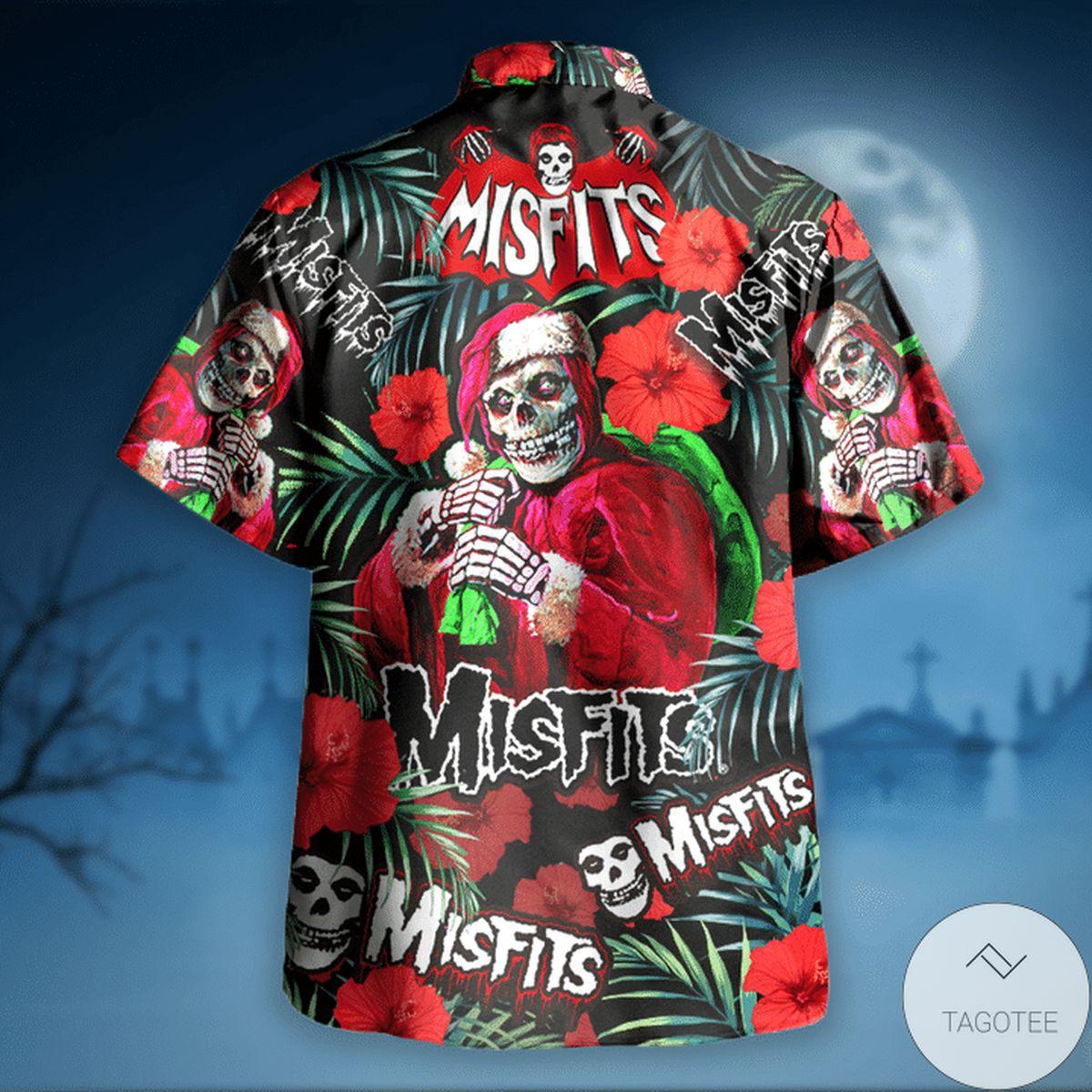 Misfits Wants Your Skulls Hawaiian Shirt