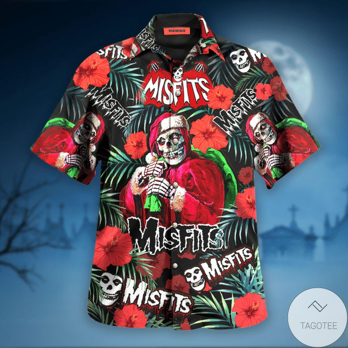 Absolutely Love Misfits Wants Your Skulls Hawaiian Shirt