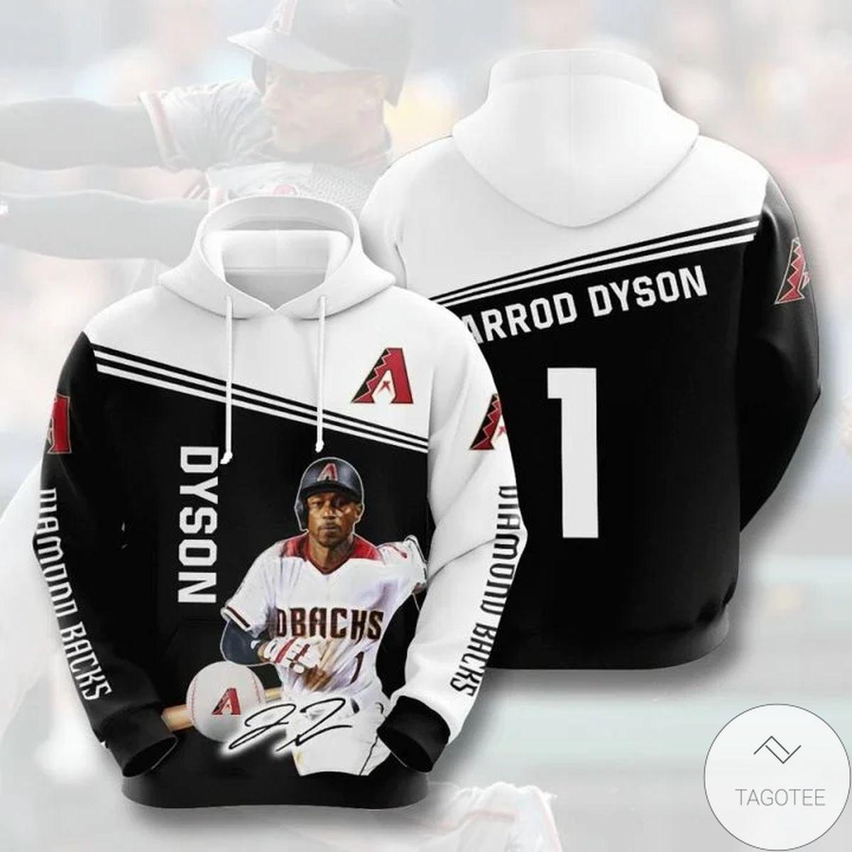 Mlb Arizona Diamondbacks Jarrod Dyson 1 Hoodie