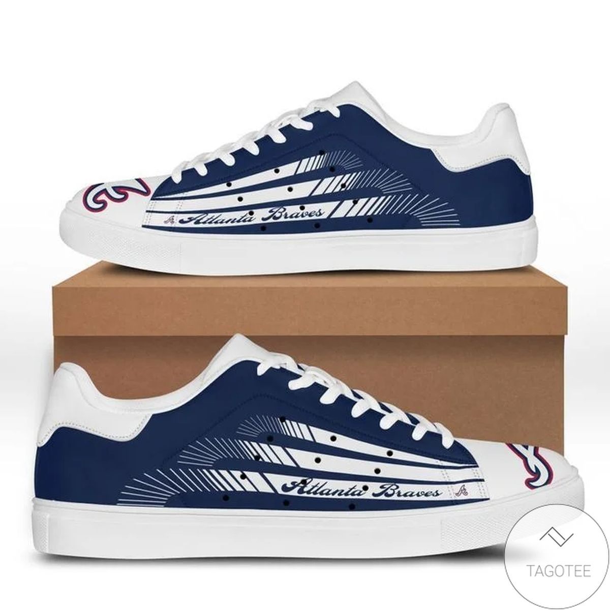 Mlb Atlanta Braves Stan Smith Shoes