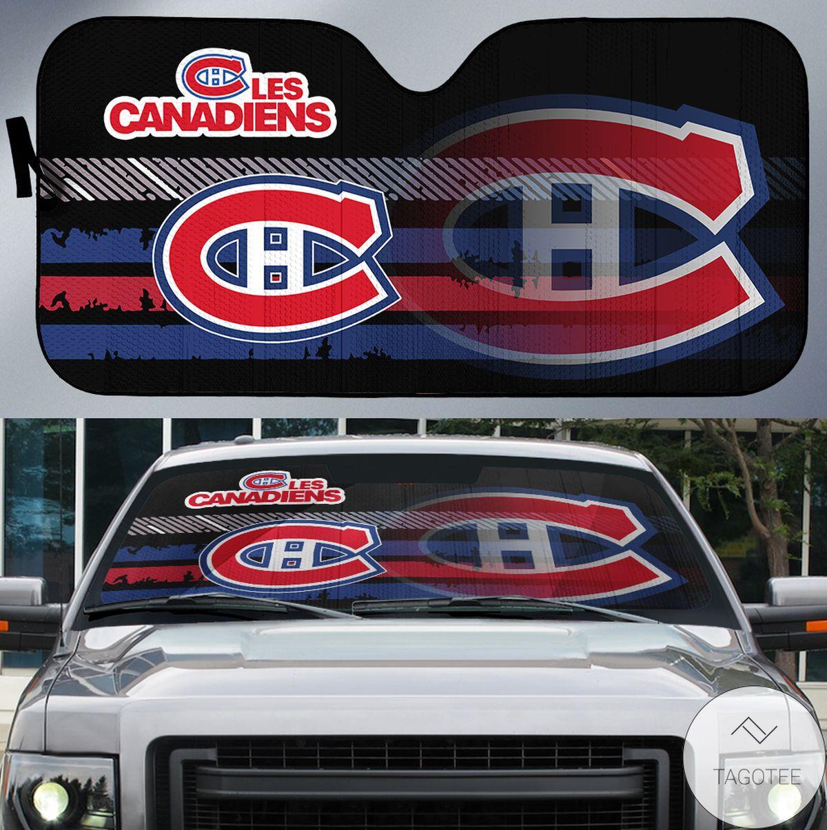 Montreal Canadiens Universal Car Auto Sun Shade