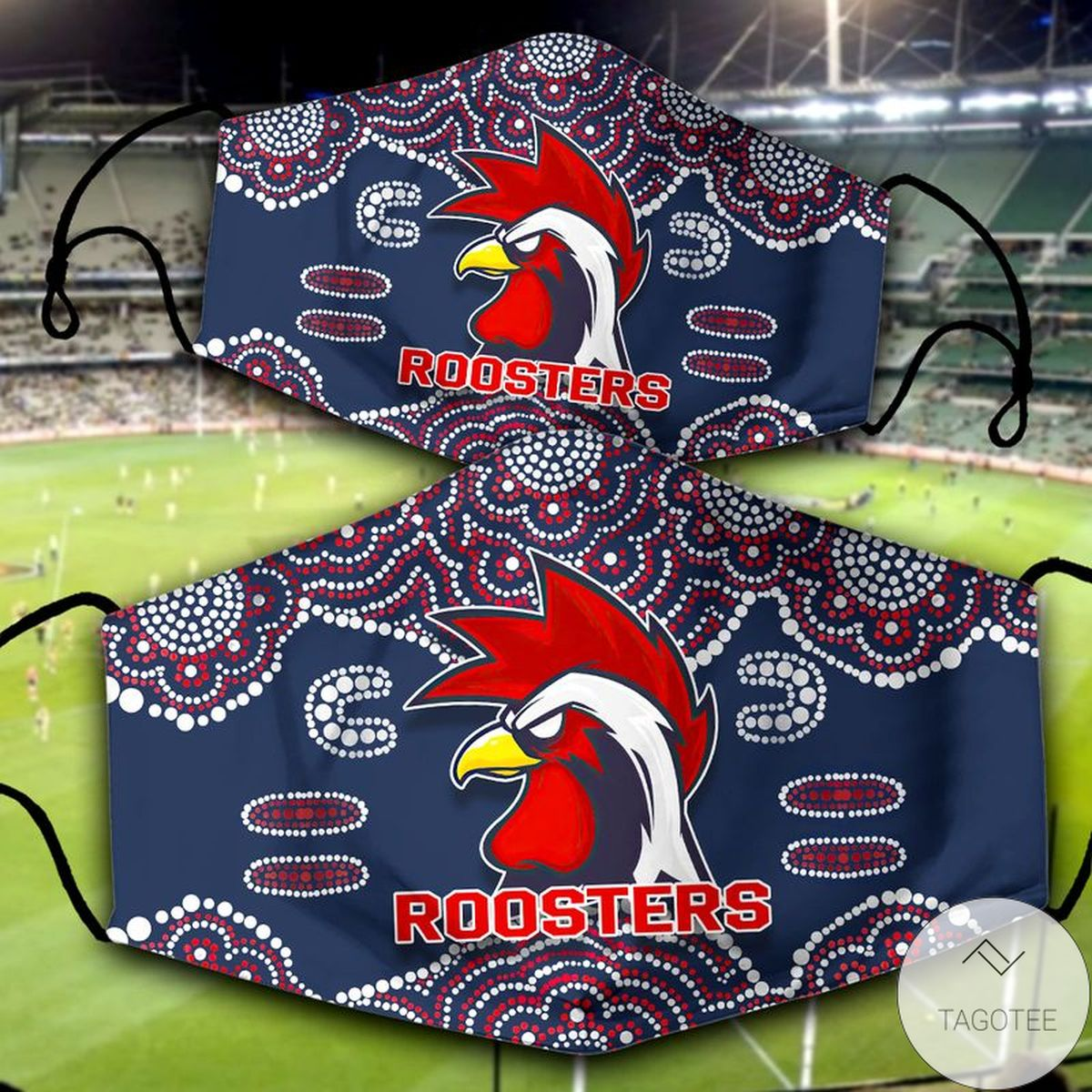 Limited Edition National Rugby League Roosters Face Mask