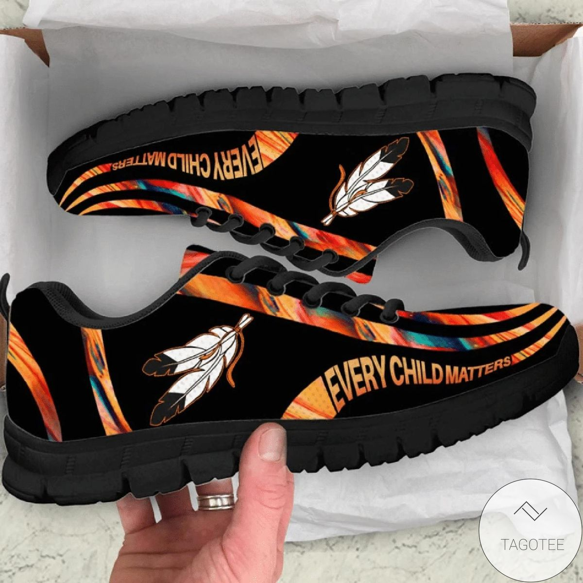 Native American Every Child Matters Low Top Sneaker