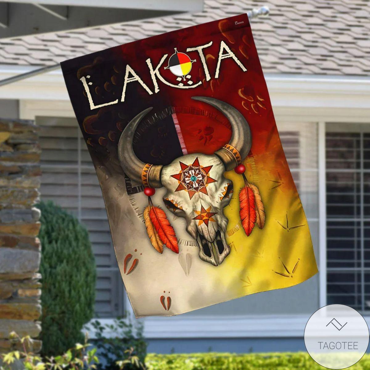 Native American Flag Lakota Native American Flag