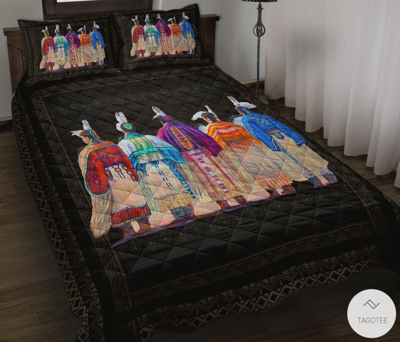 Native Indigenous Unite Quilt Bedding Set