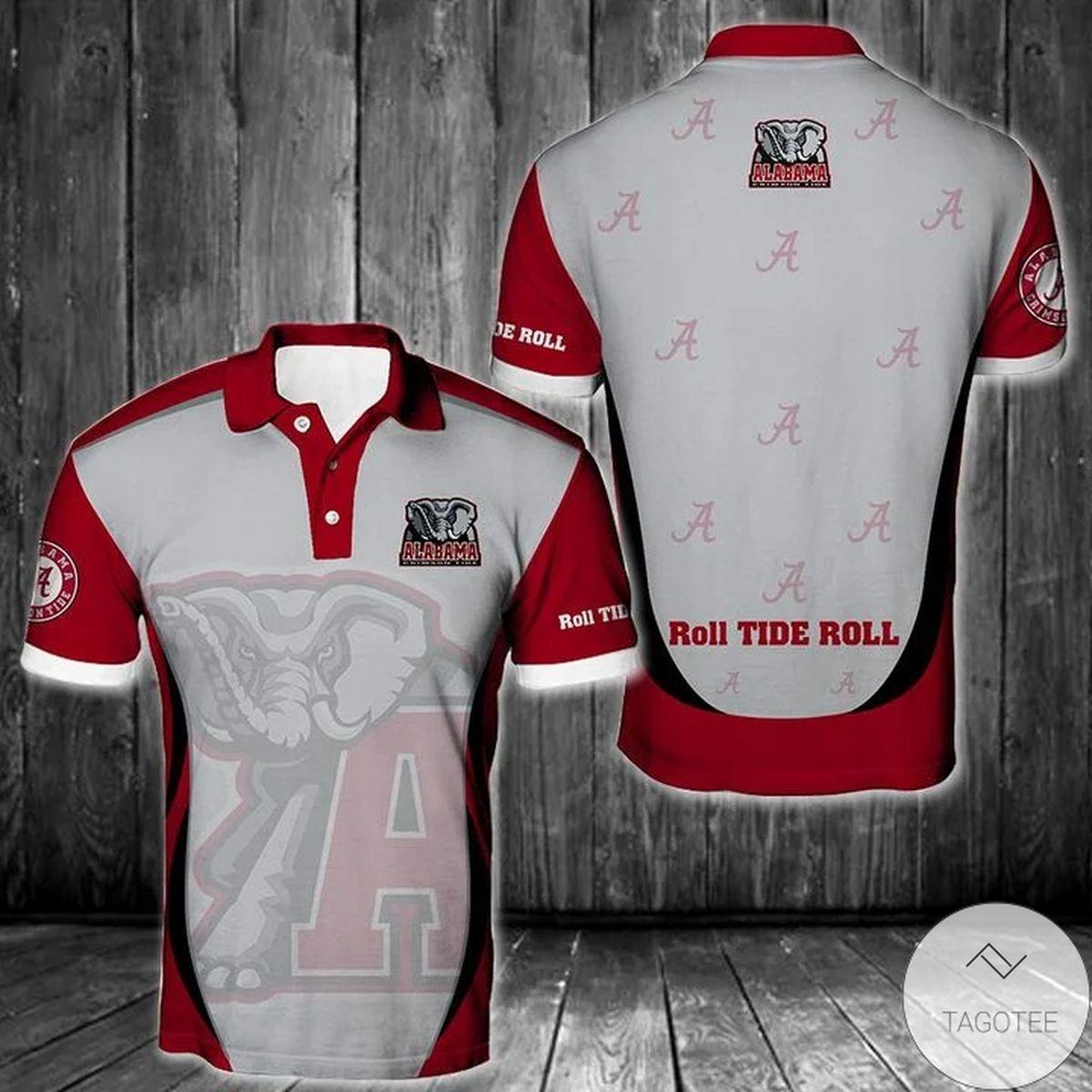 Ncaa Alabama Crimson Tide Polo Shirt
