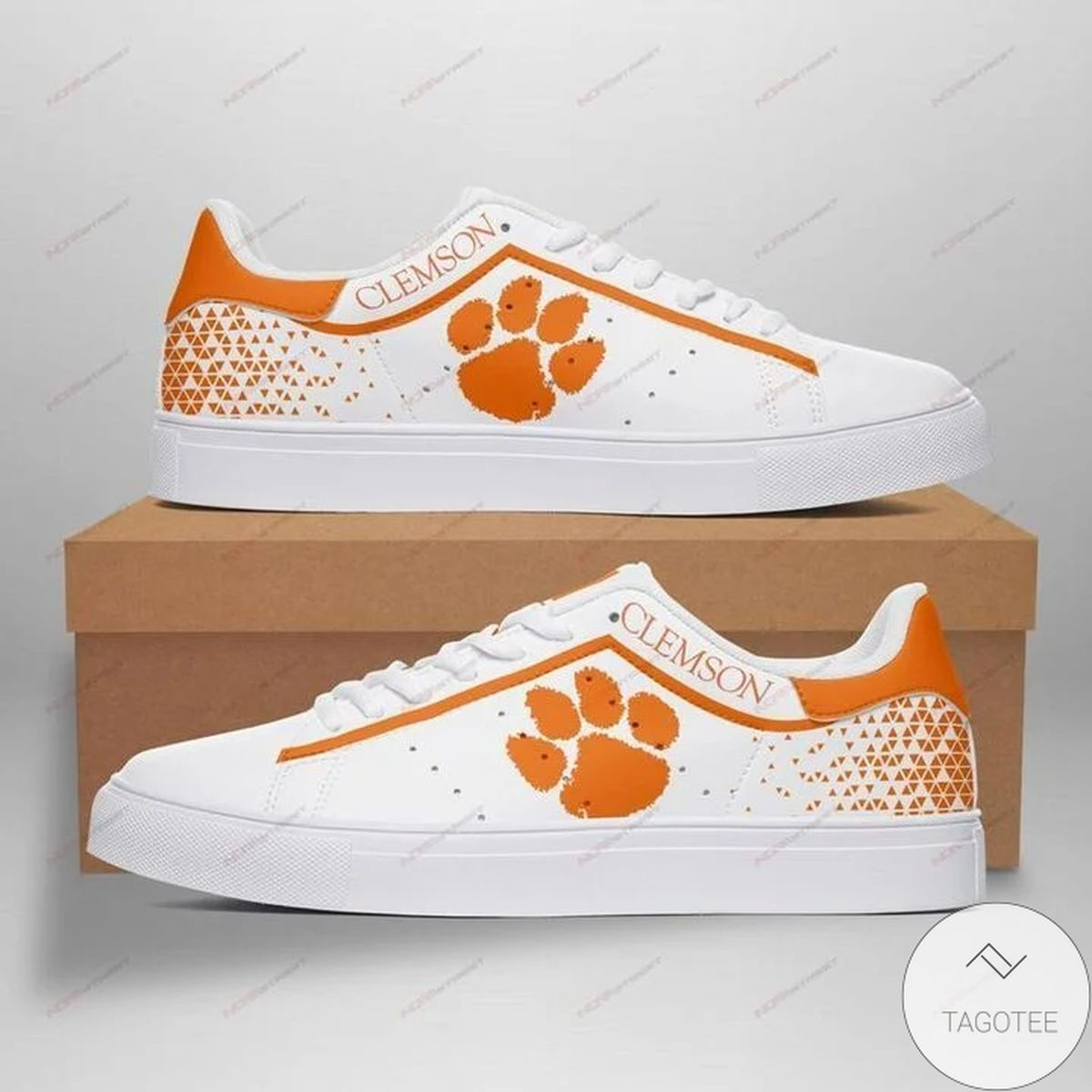 Ncaa Clemson Tigers Stan Smith Shoes