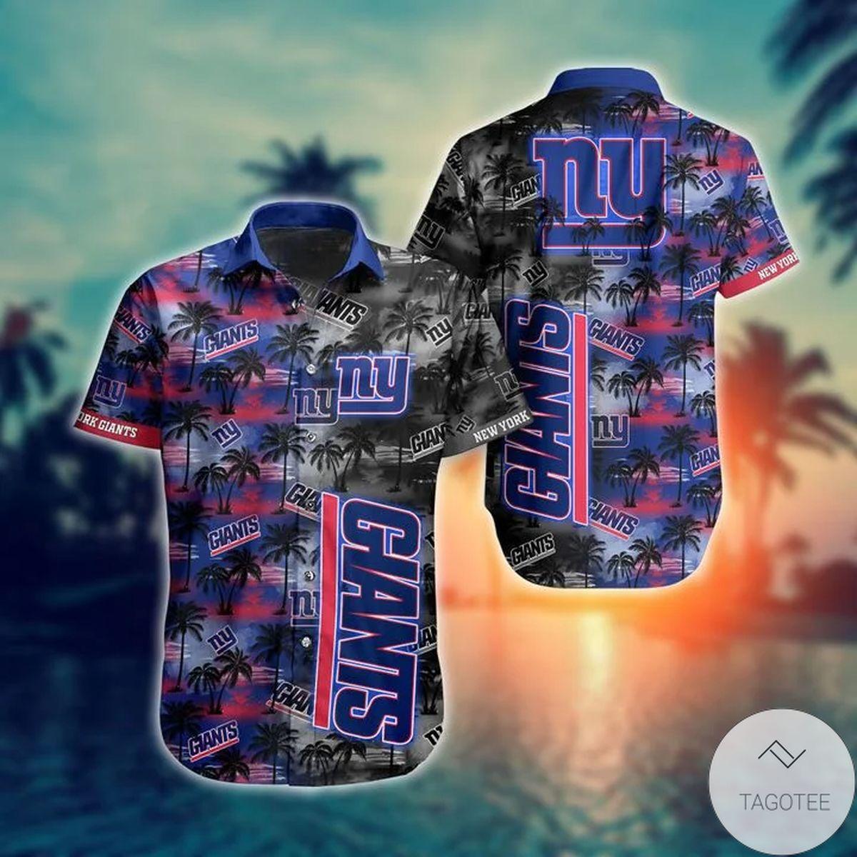 Great Quality New York Giants NFL Hawaiian Shirt