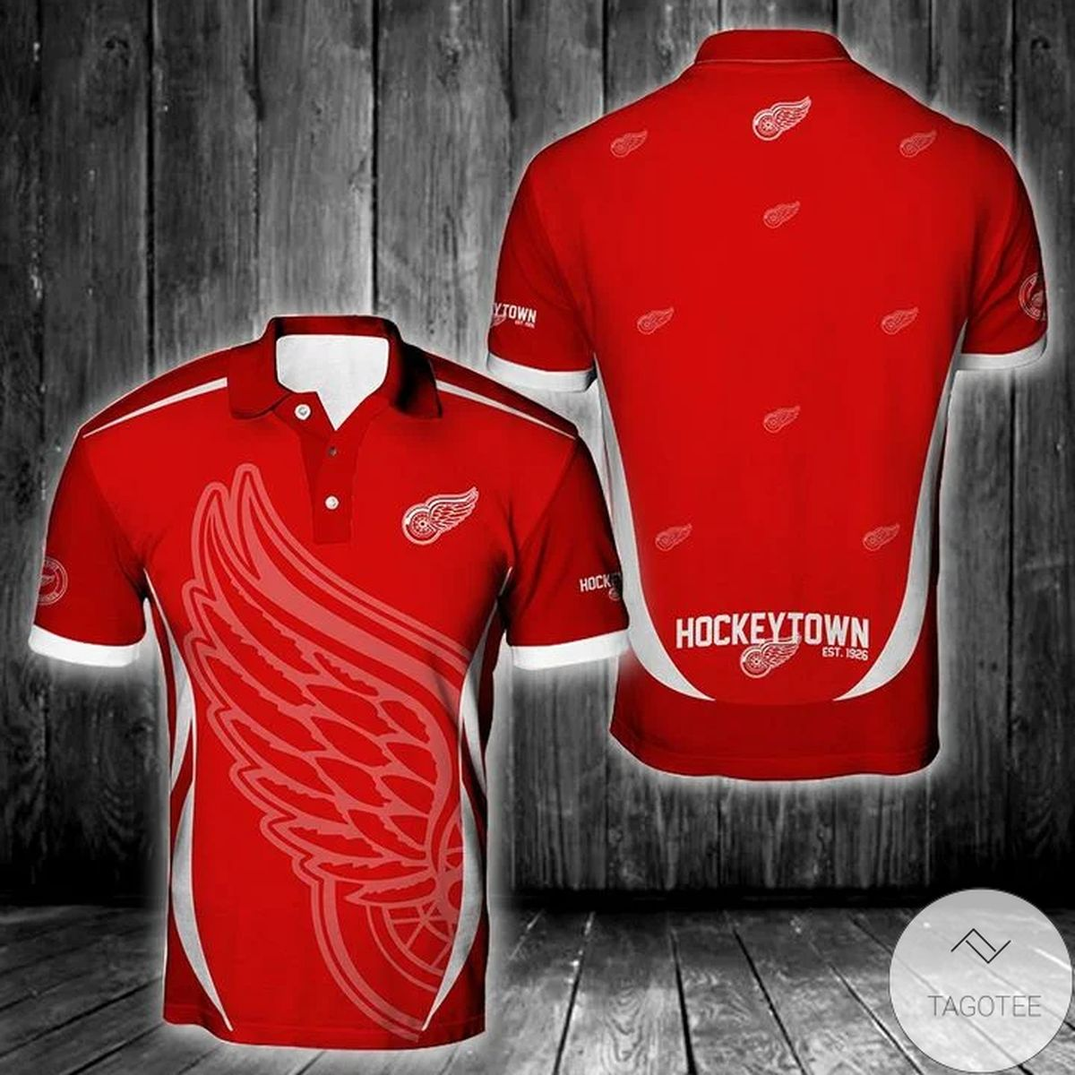 Nhl Detroit Red Wings Polo Shirt
