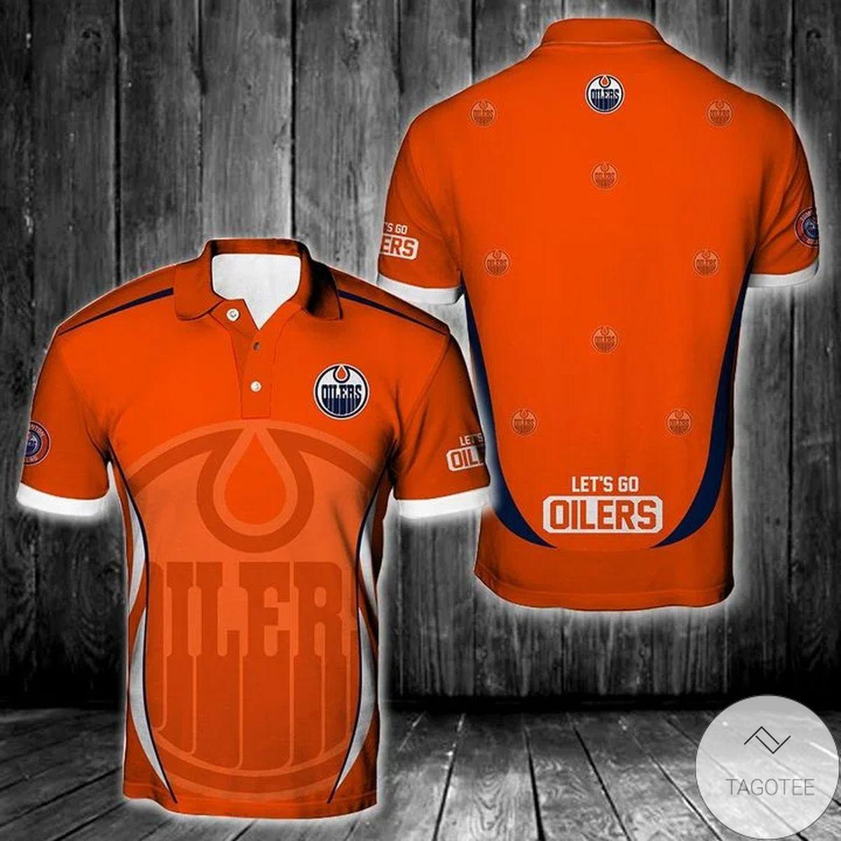 Nhl Edmonton Oilers Polo Shirt