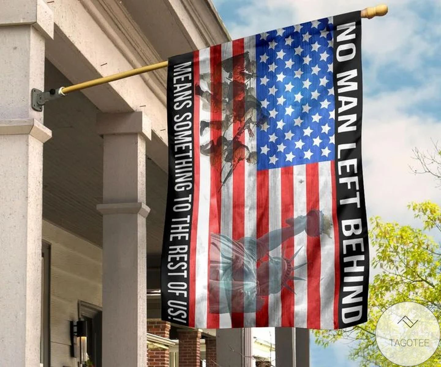 No Man Left Behind Means Something To The Rest Of Us Usa Flag