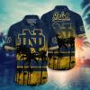 Notre Dame Fighting Irish Tropical Hawaiian Shirt, Beach Short
