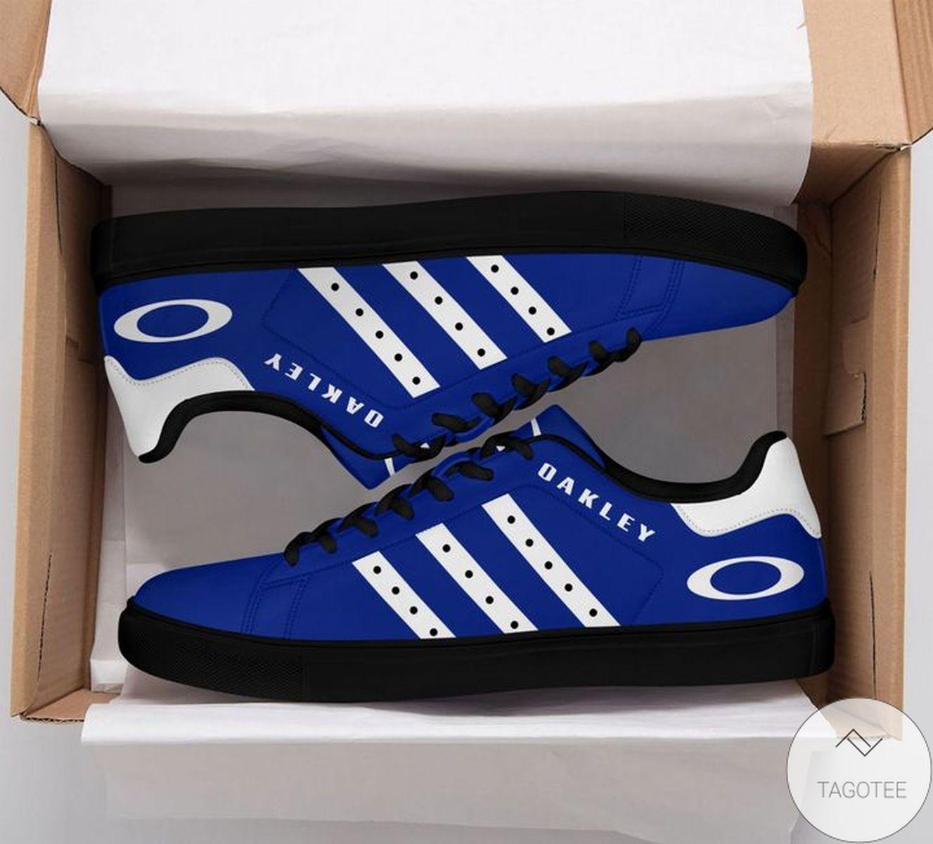Oakley Blue Stan Smith Shoes