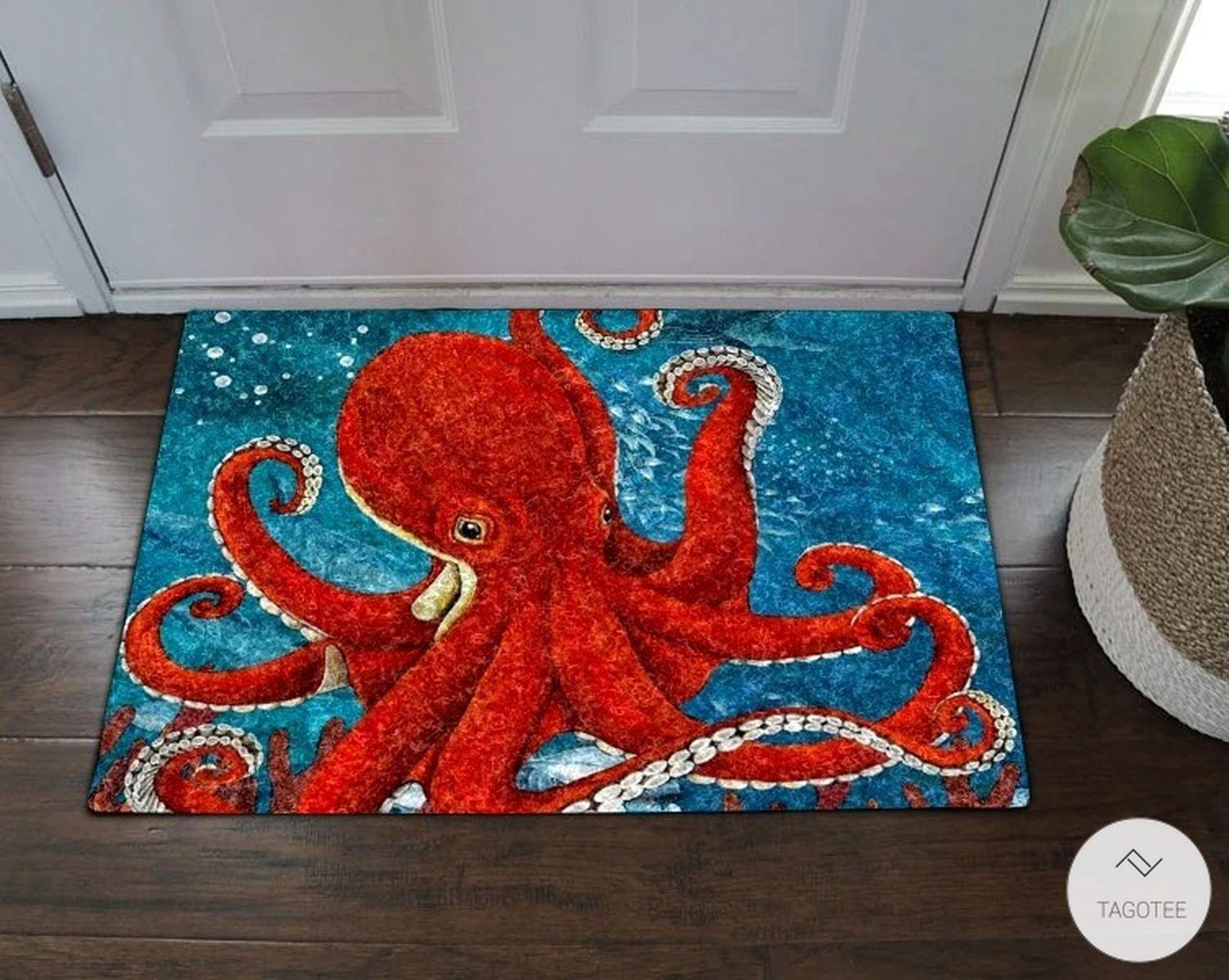 Octopus Ocean Doormat