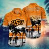 Oklahoma State Cowboys Hawaiian Shirt, Beach Short