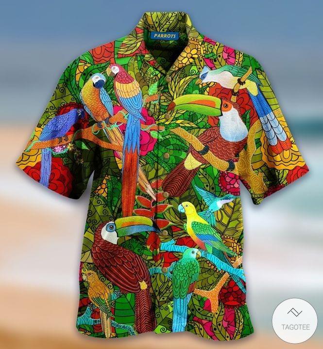 Parrots Hawaiian Shirt