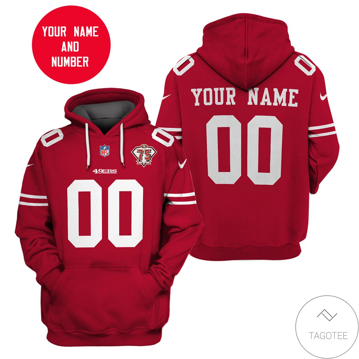 Personalized 49ers Nfl Hoodie