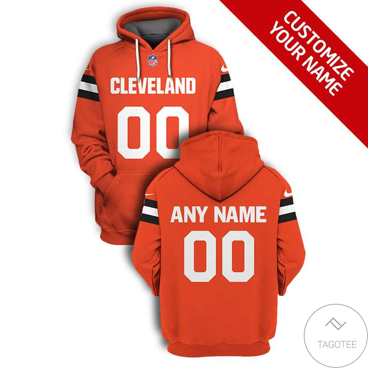 Limited Edition Personalized Cleveland Branded Unisex Hoodie