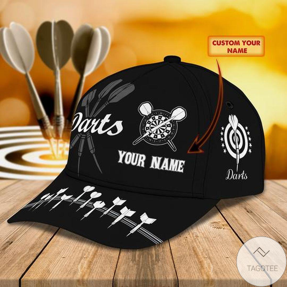 Personalized Darts Black Cap