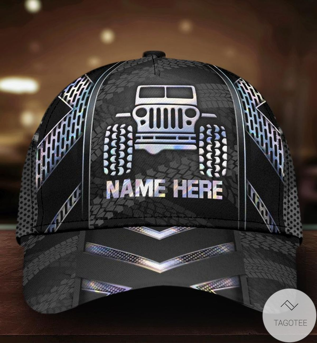 Personalized Jeep Hologram Cap
