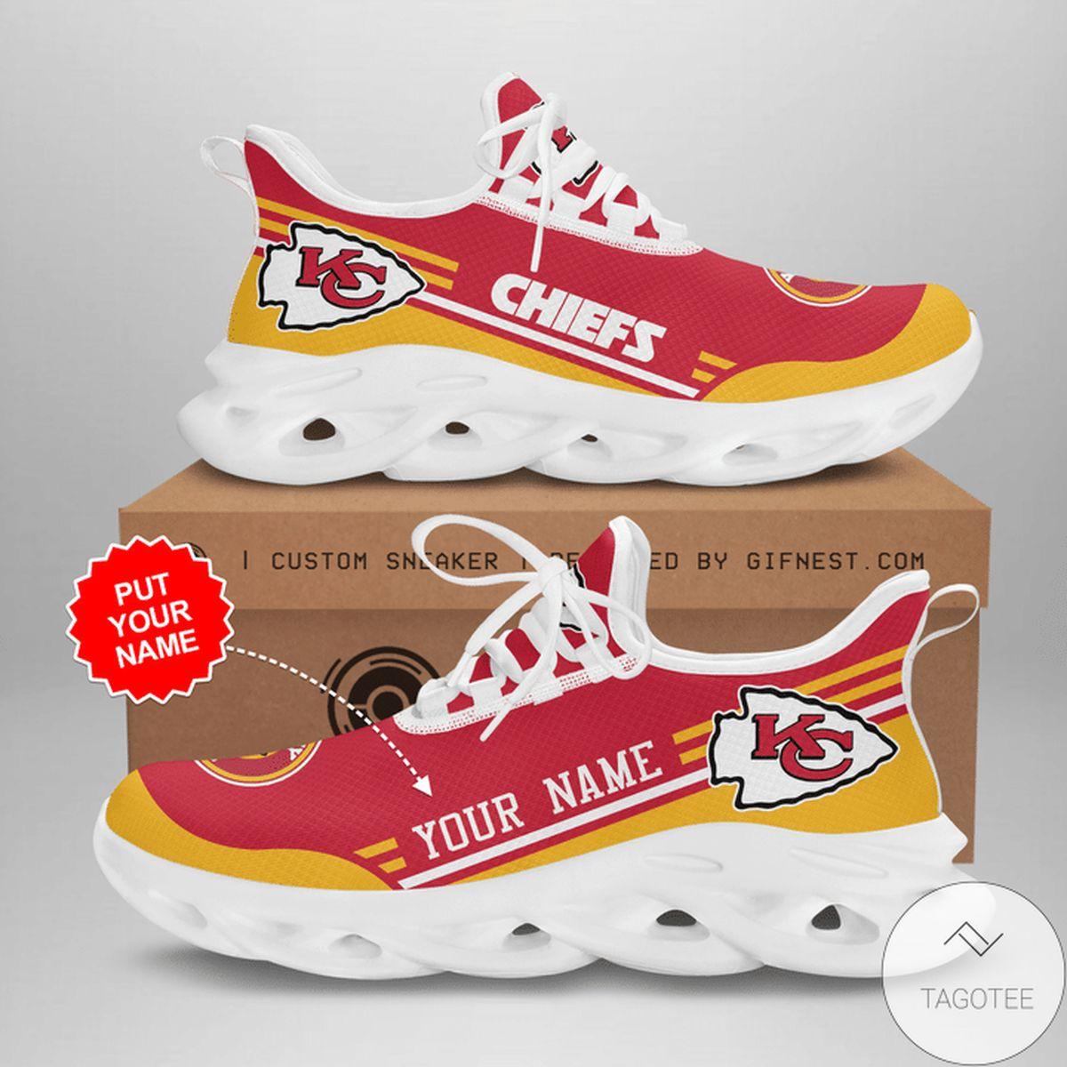 Personalized Kc Chiefs Sneaker Max Soul Shoes