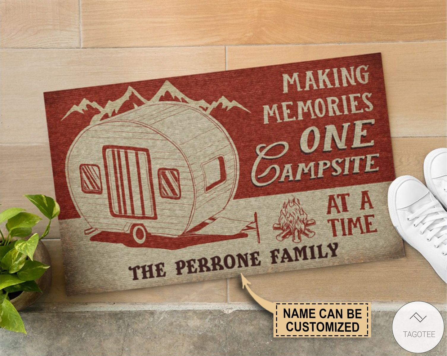 Personalized Making Memories One Campsite At A Time Doormatz