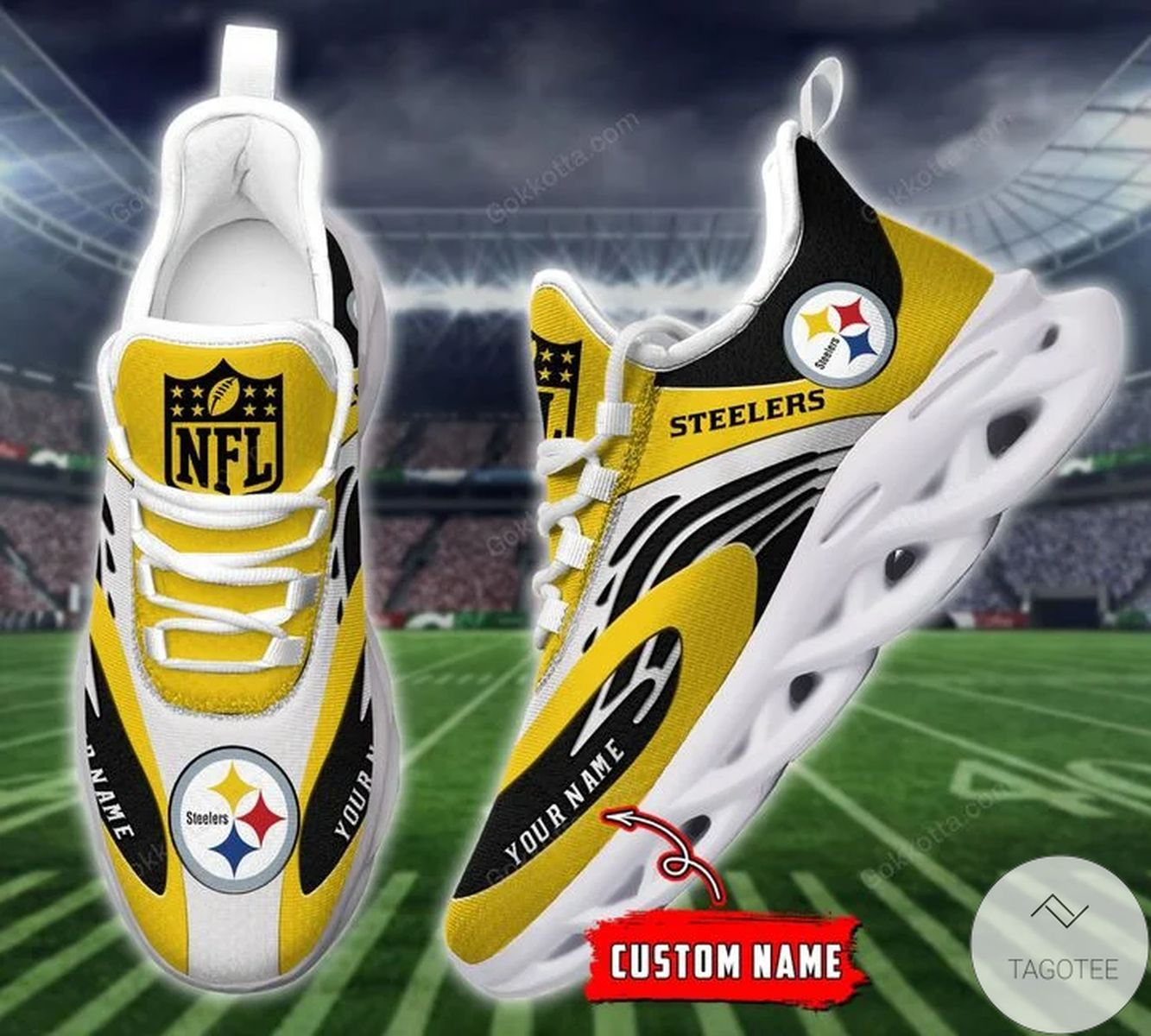 Official Personalized Pittsburgh Steelers Sneaker Max Soul Shoes