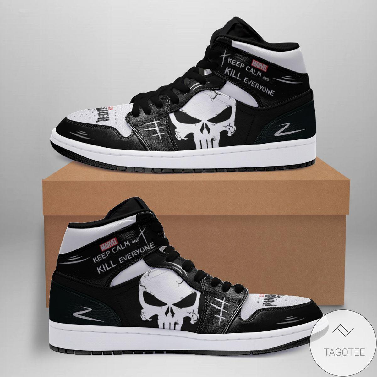 Personalized Punisher Air Jordan 13