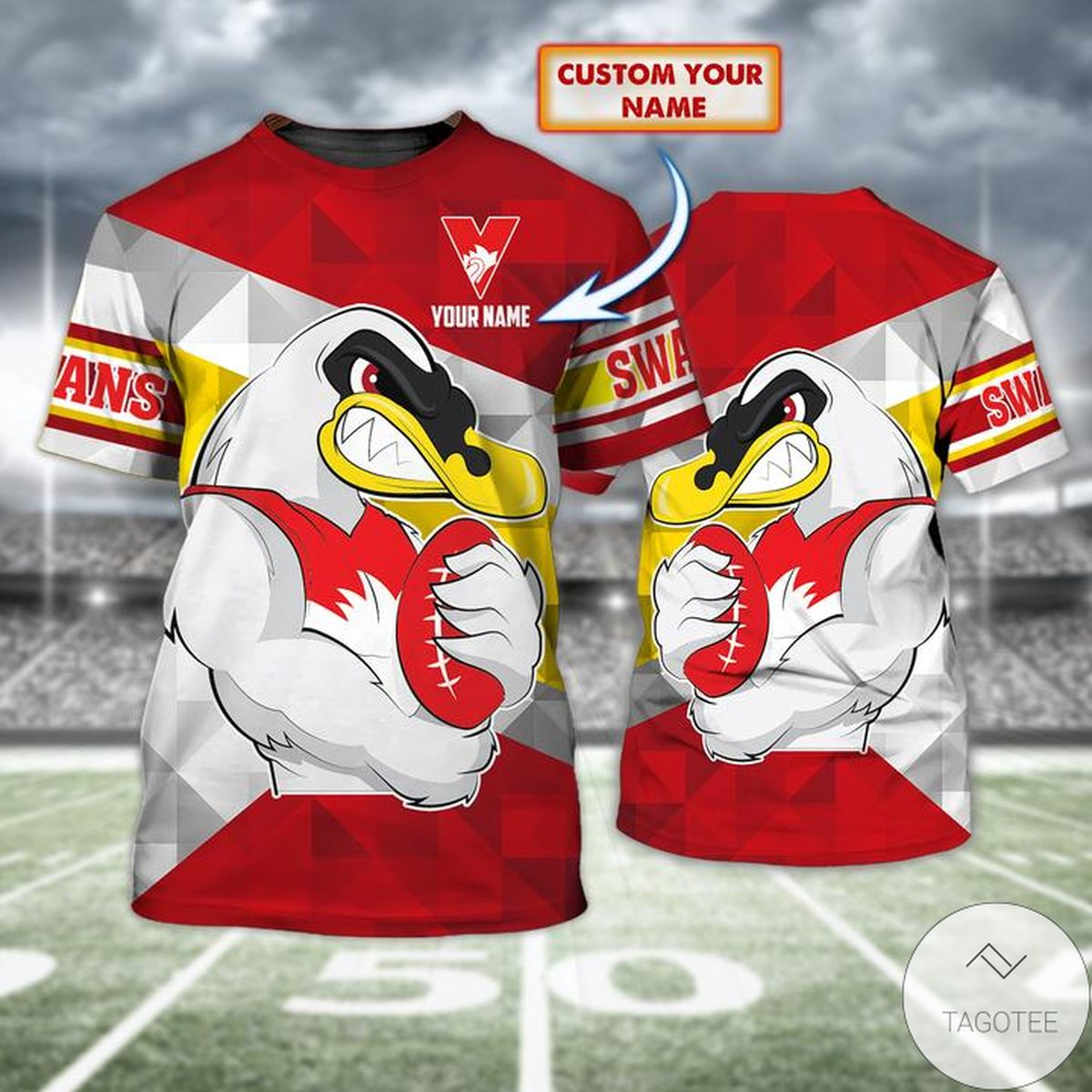 Personalized Sydney Swan 3d Shirt