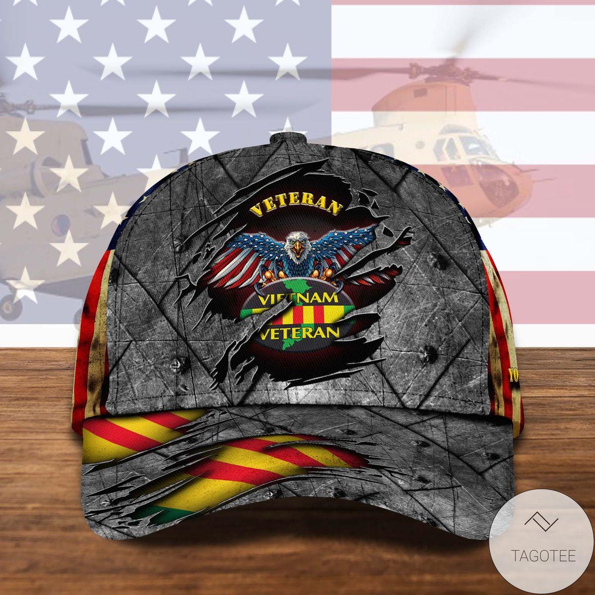 Personalized Vietnam Veteran Cap