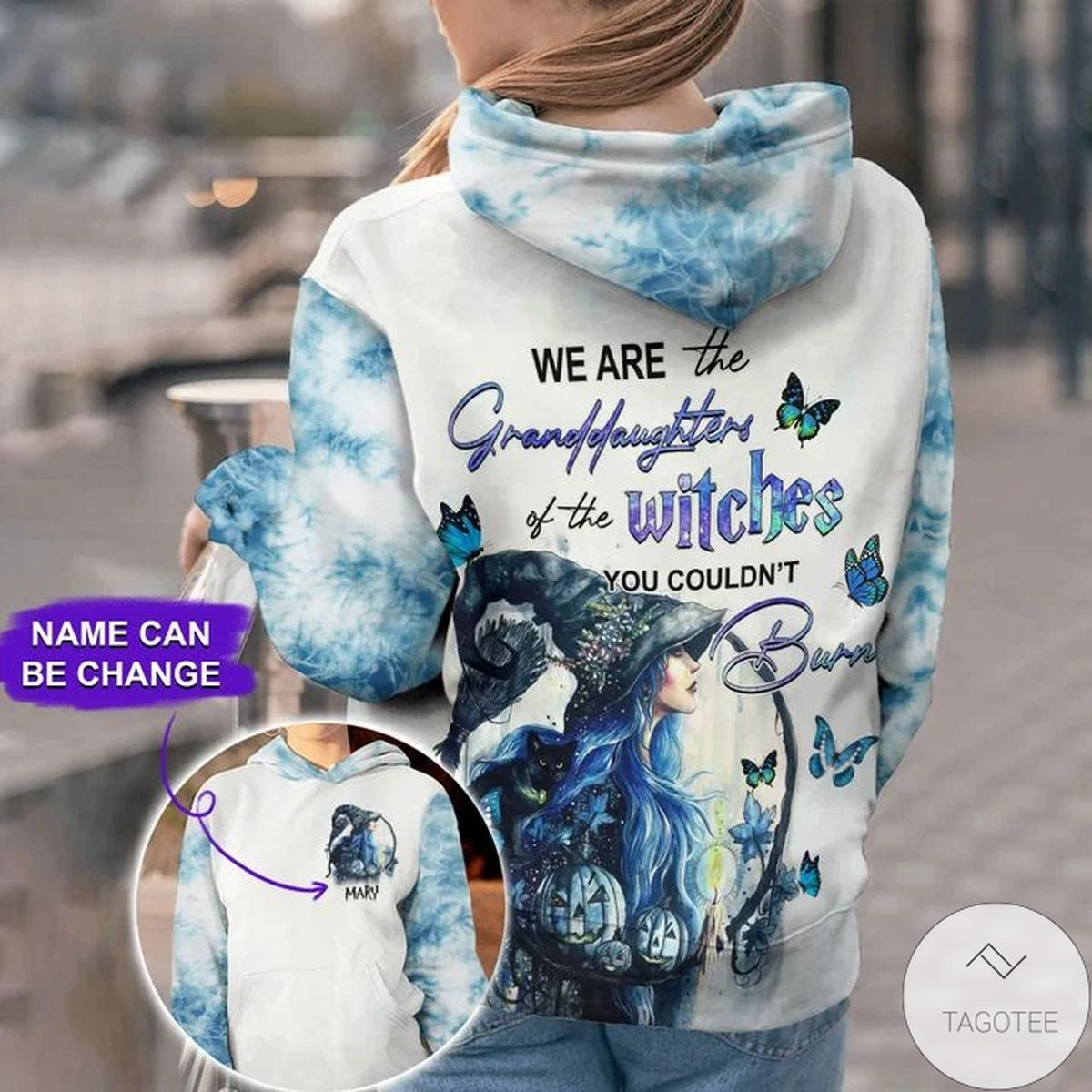Personalized We Are The Granddaughters Of Witches 3d Hoodie
