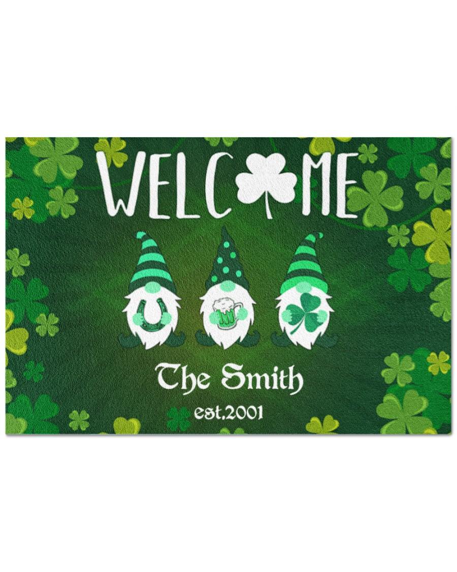 Personalized Welcome Irish Home Doormat