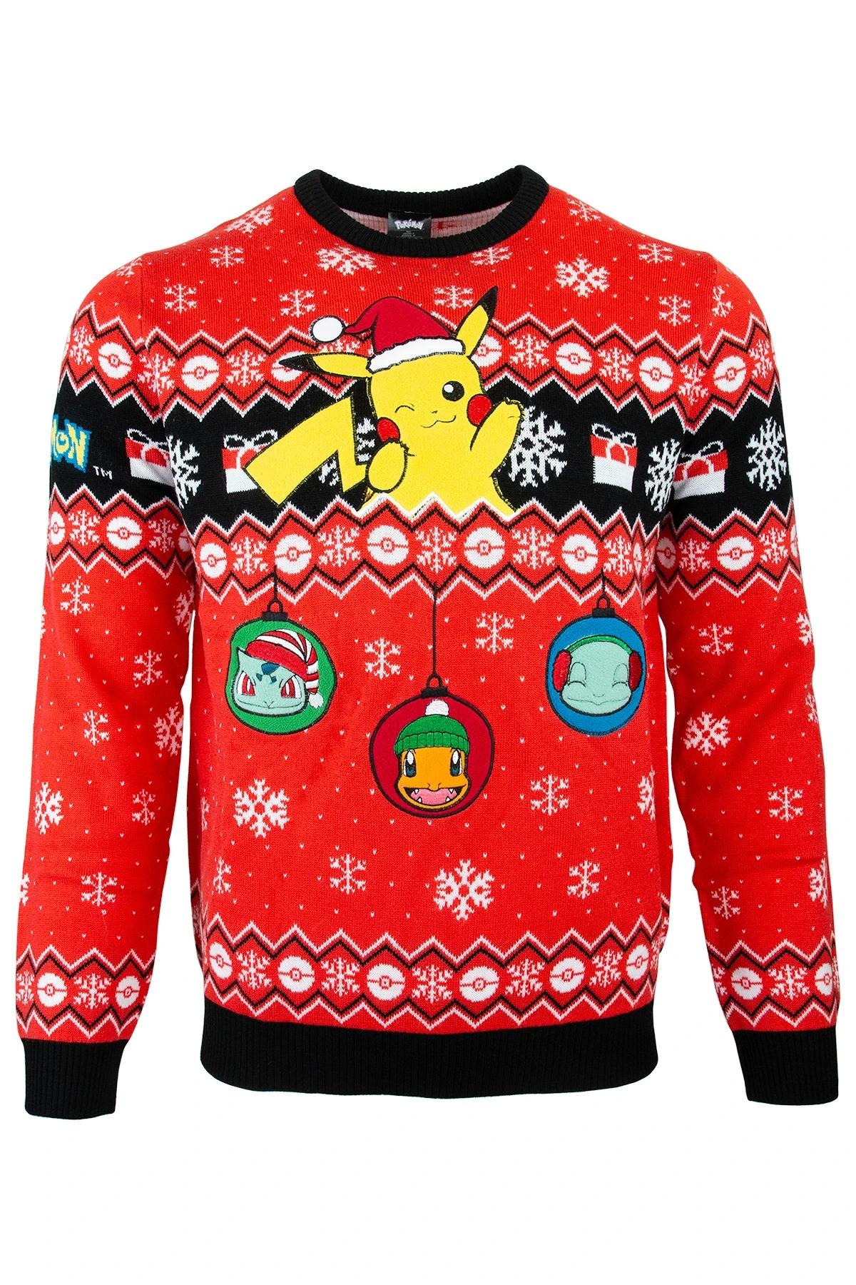 Pikachu Pokémon Ugly Christmas Sweater