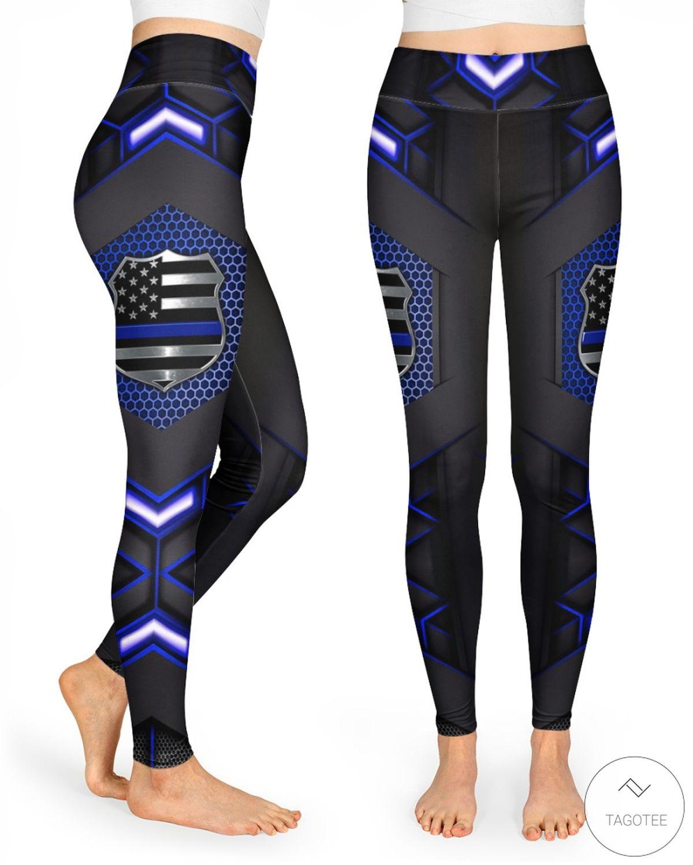 Police 3D Legging