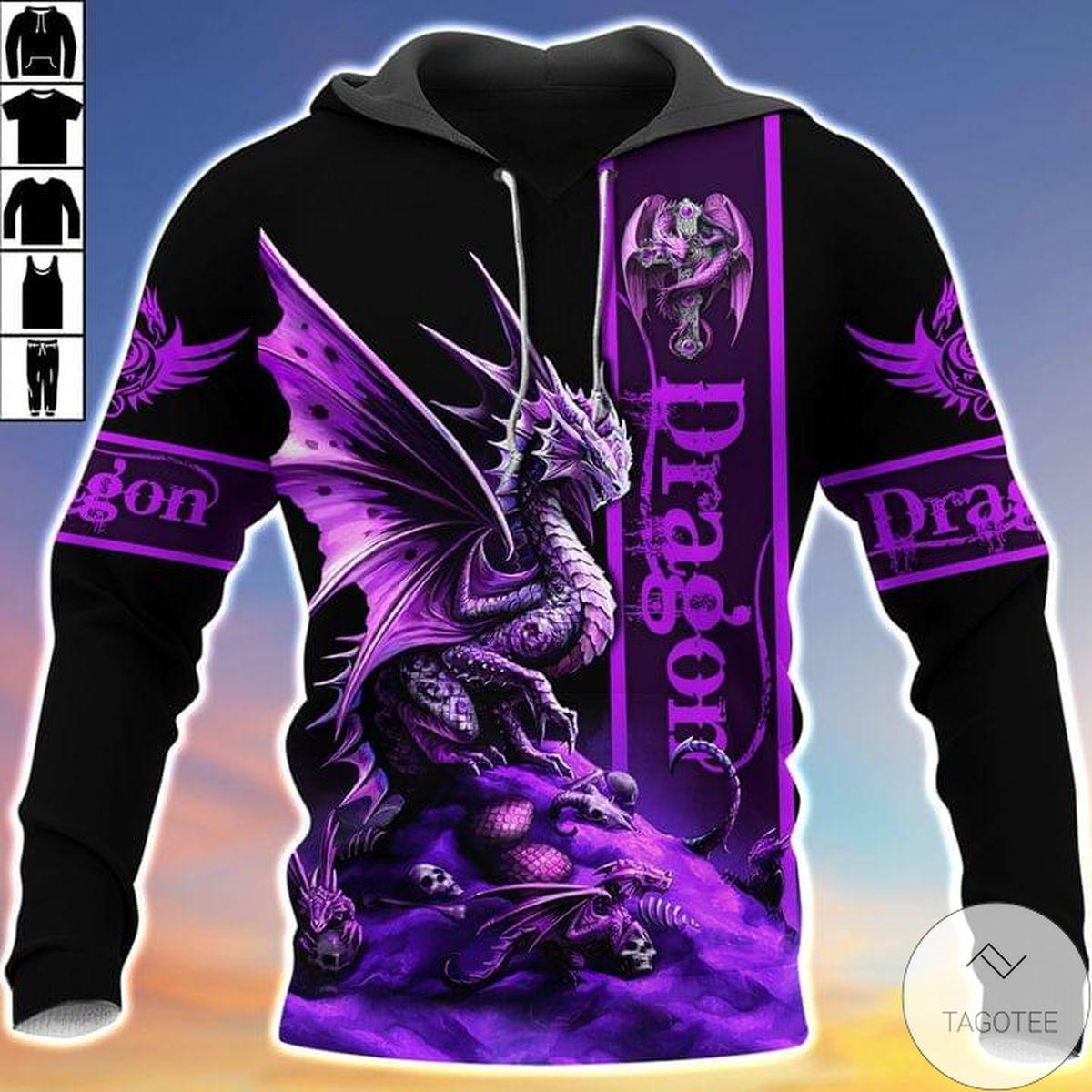 Purple Dragon Hoodie