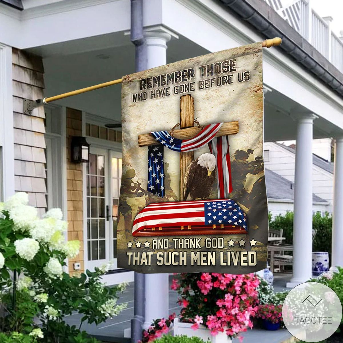 Remember Those Who Have Gone Before Veteran Flag