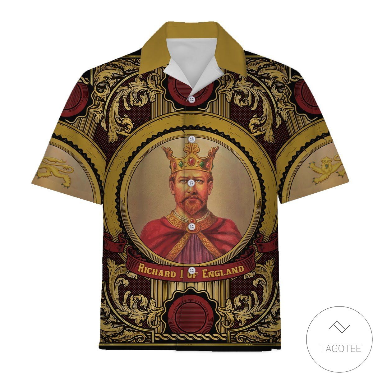 Richard 1 Of England Hawaiian Shirt