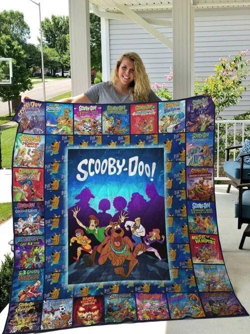 Scooby-Doo fleece blanket 0
