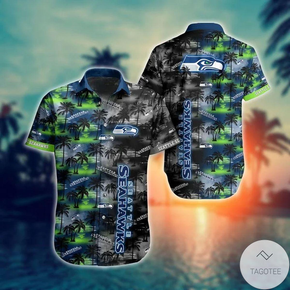 Seattle Seahawks NFL Hawaiian Shirt