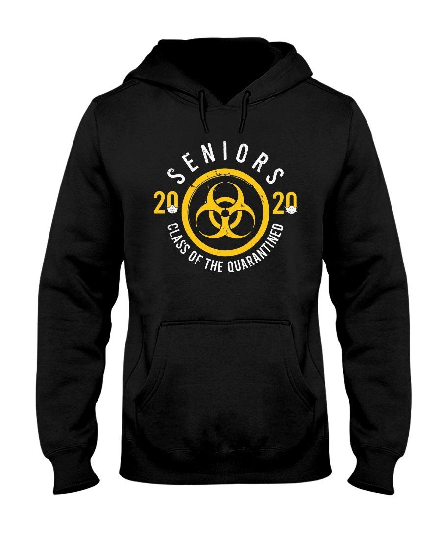 Seniors 2020 class of the quarantined symbol Hoodie