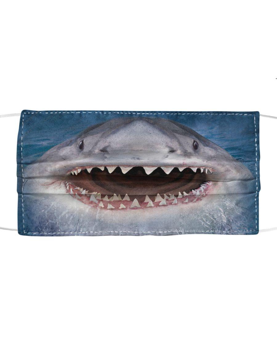 Shark 3D face mask