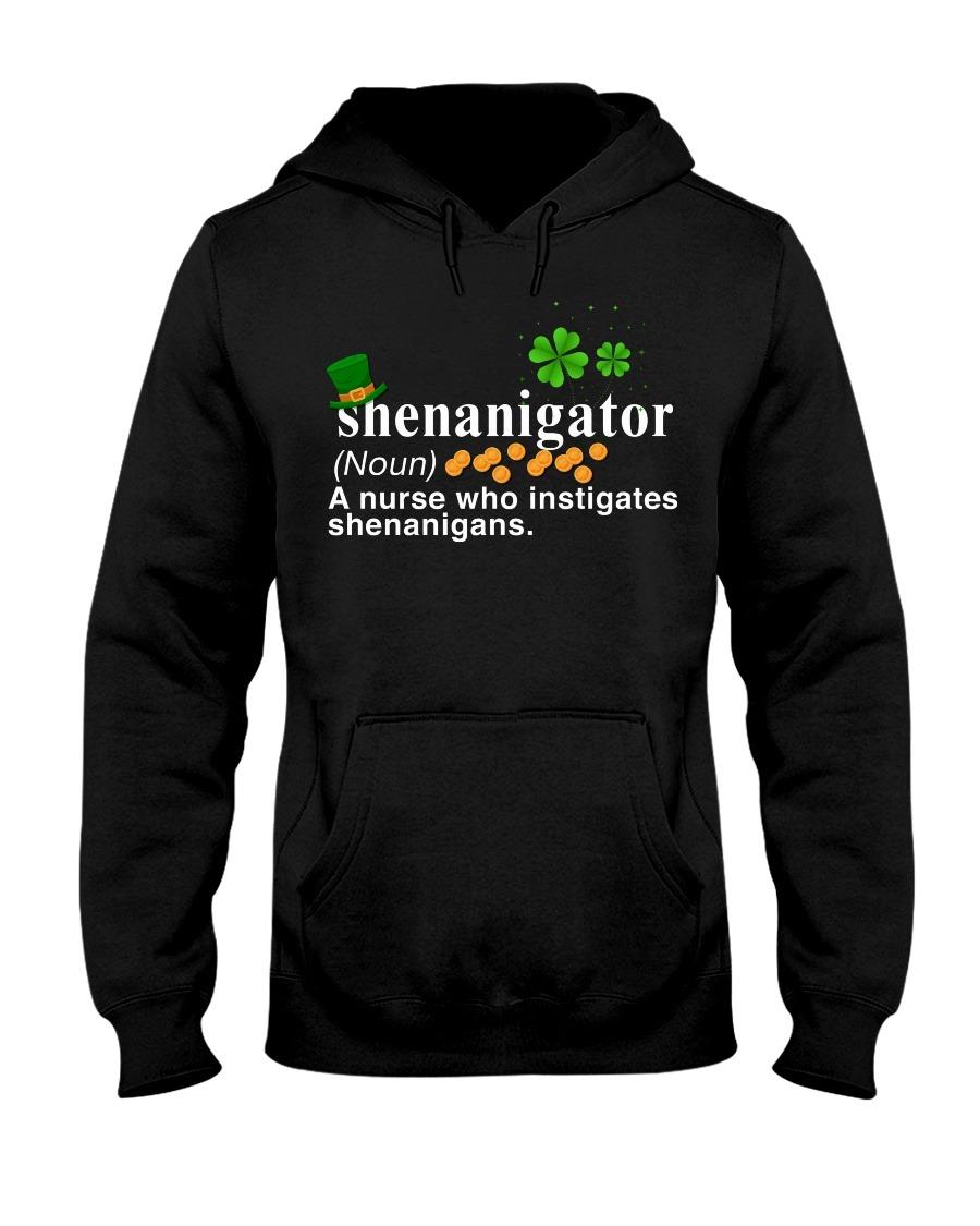 Shenanigator definition A nurse who instigates shenanigans hoodie