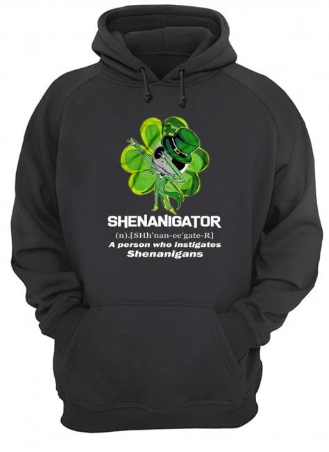 Shenanigator definition Jack Skellington hoodie