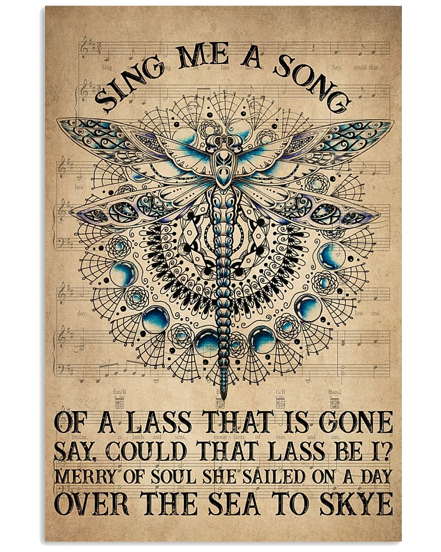 Sing me a song of a lass that is gone Say, could that lass be I poster