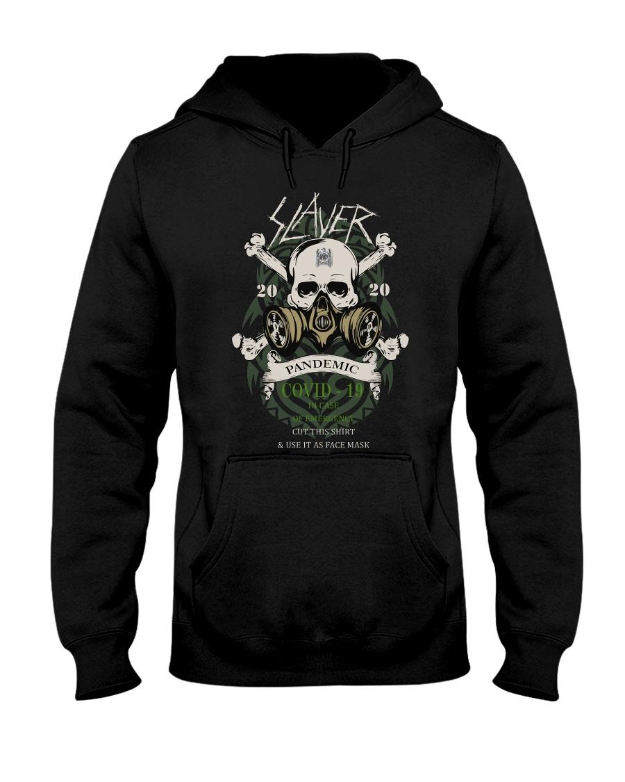 Slayer Skull 2020 Covid 19 Pandemic hoodie