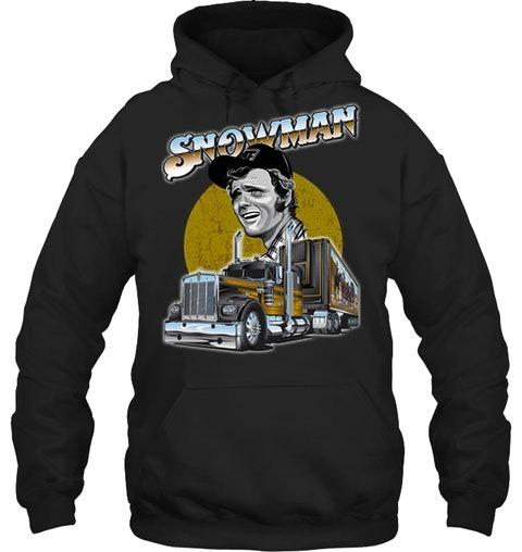 Snowman Truck hoodie