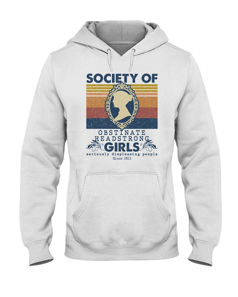 Society for Obstinate Headstrong Girls vintage hoodie