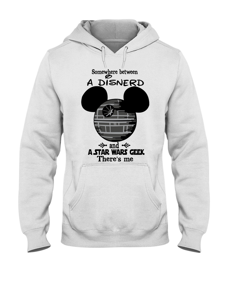 Somewhere between a Disnerd and Star Wars geek there's me hoodie