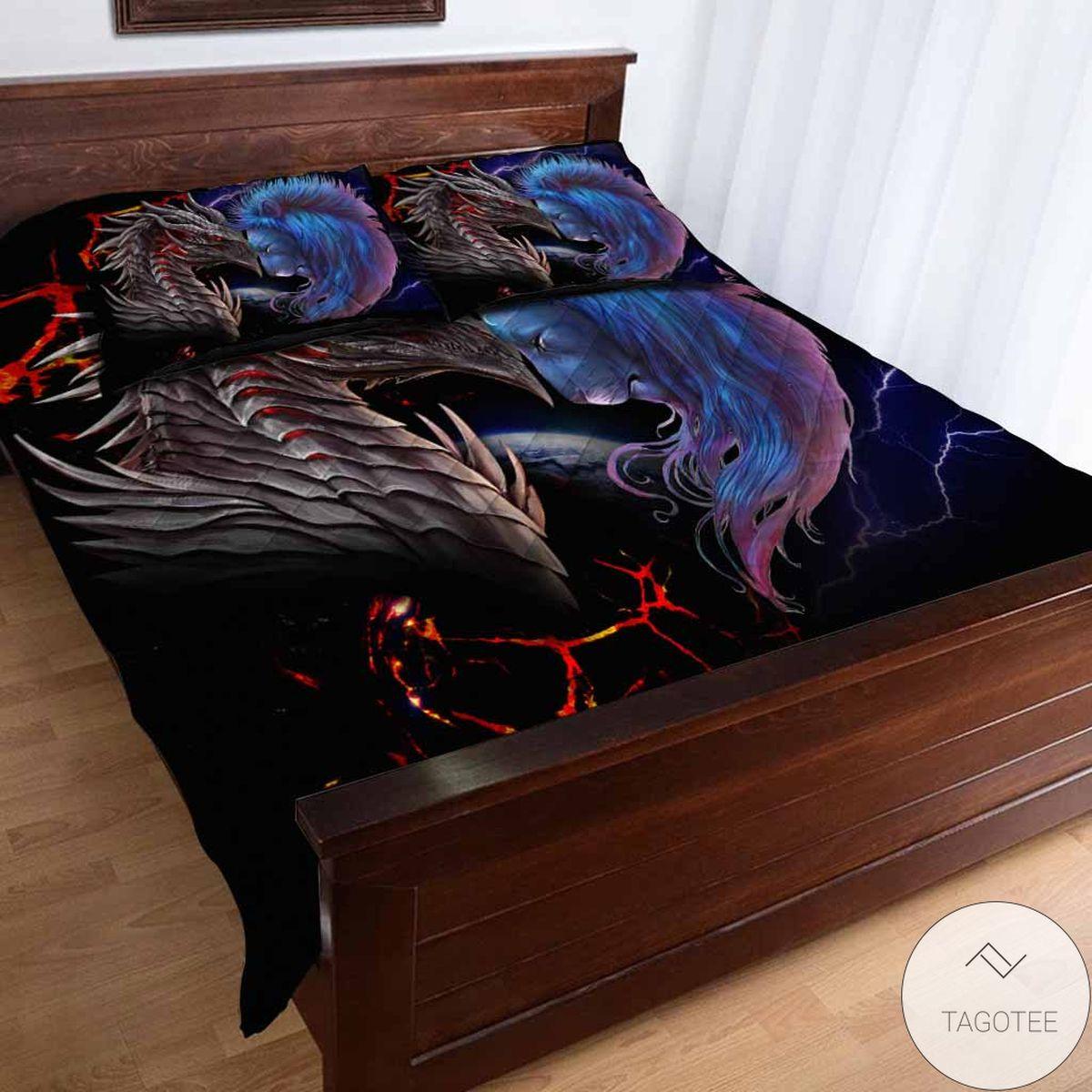 New Soul Of A Dragon Bedding Set