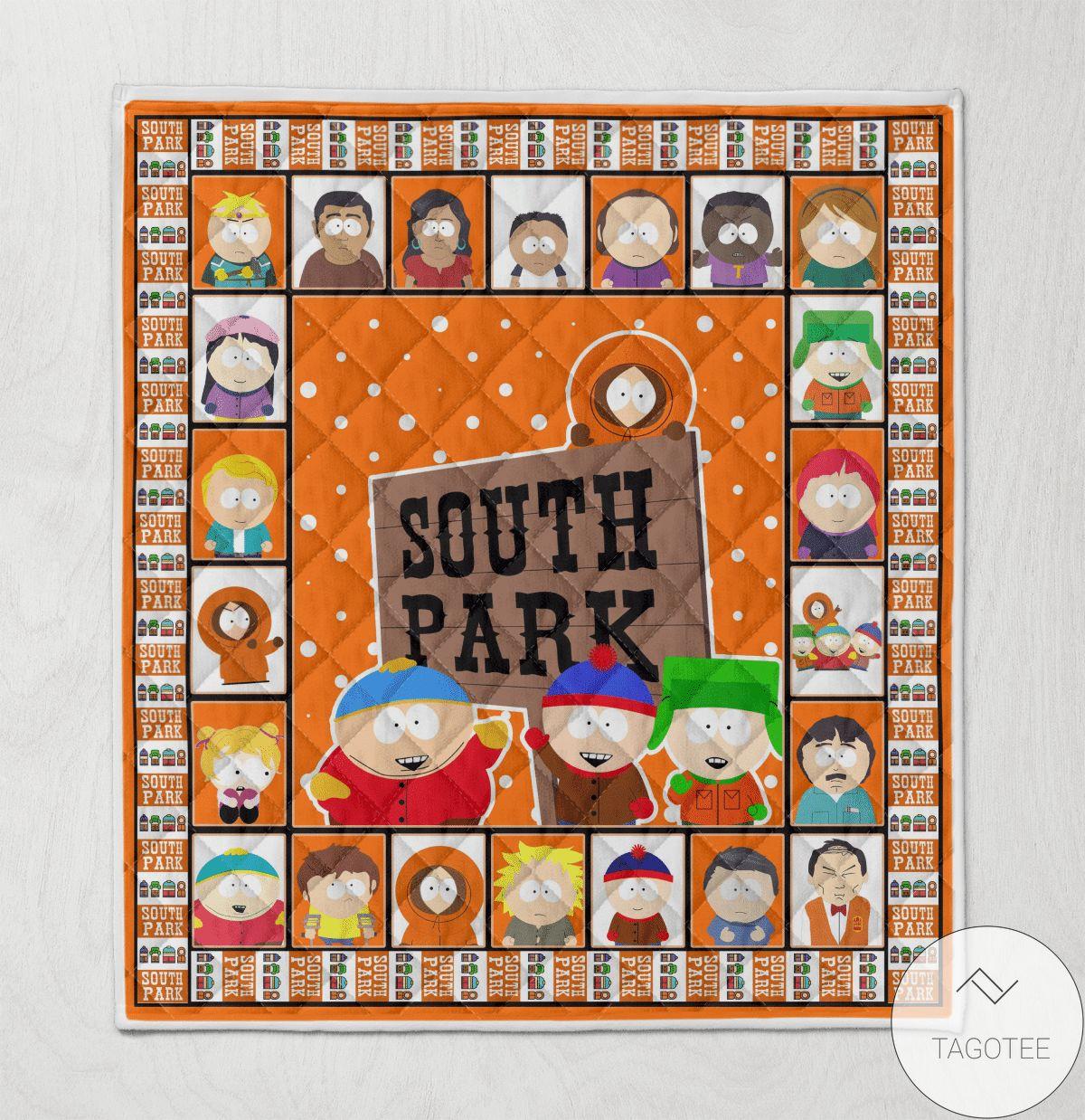 South Park Blanket Quilt